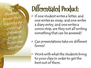 "Educational Resource:  ""Why don't you differentiate the product?"""