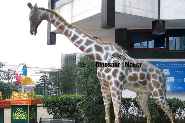Animatronic Giraffe Model exhibited