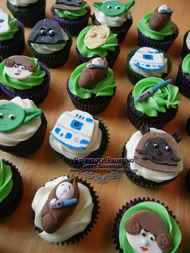 Star Wars Cupcakes Angle