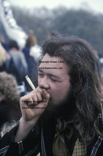 Hippies Smoking Weed 1960 HIPPY SMOKING JOINT HY...