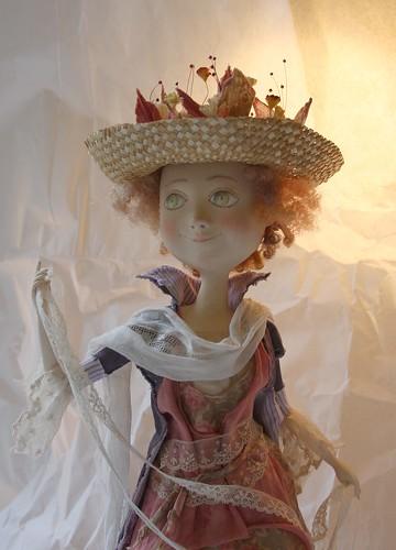 """Art Doll """"Playing Boho"""" OOAK/Авторская кукла """"Игра в Бохо"""""""