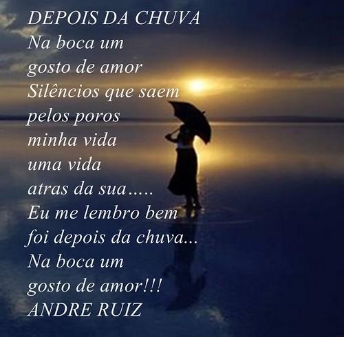 DEPOIS DA CHUVA by amigos do poeta