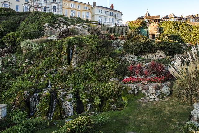 Jardín en Ventnor, Isla de Wight