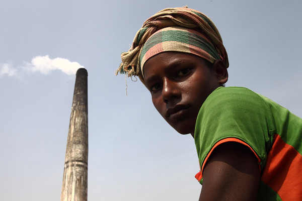 Brick-field Worker [Say no to child labour]