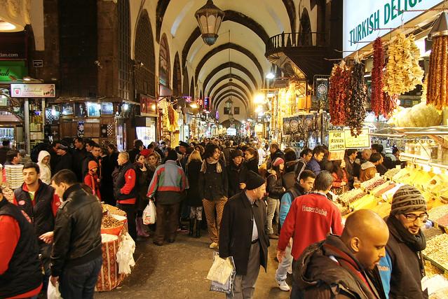 Egyptian Bazaar, Istanbul, Turkey イスタンブール、エジプシャンバザール
