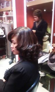 Dạy sấy tóc Hàn Quốc nhanh gọn đẹp Hair salon Korigami 0915804875 (www.korigami (1)
