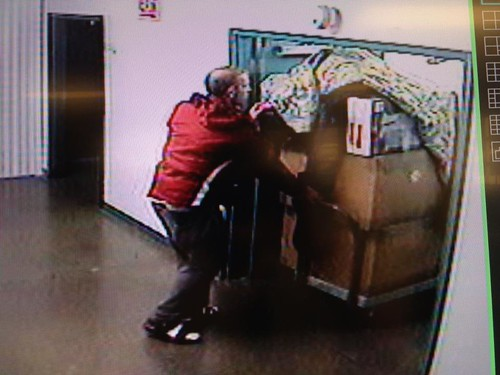 Venice Storage Units Robbed: Help ID the Theif!