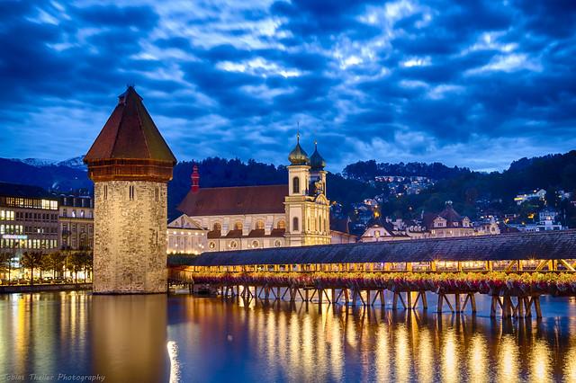 Kapellbrücke Luzern, Schweiz