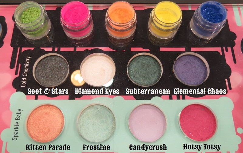 Sugarpill Cosmetics Cold Chemistry and Sparkle Baby Eyeshadow Palette