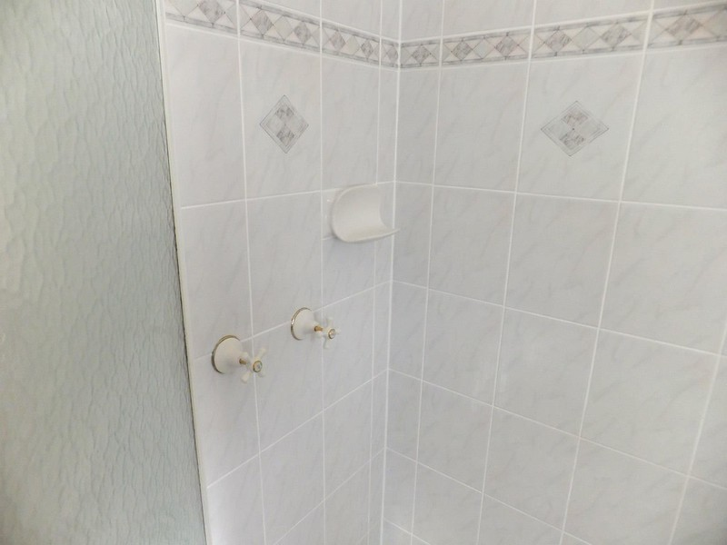 shower wall grout paint after 2