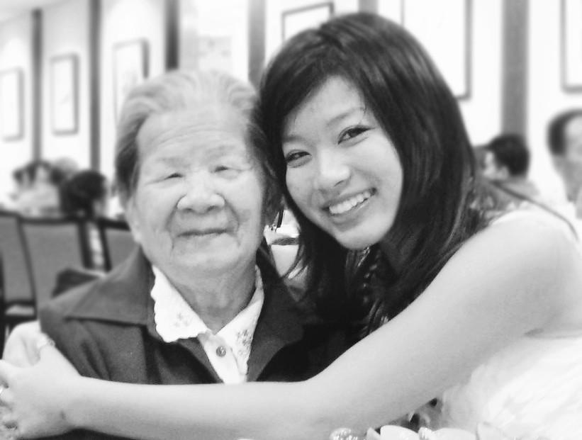 grandma and me circa 2008