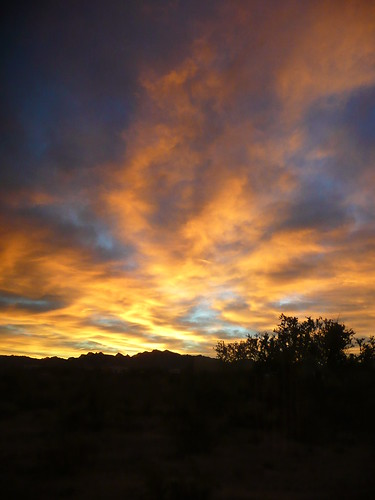 Sunrise in Quartzsite by RV Bob