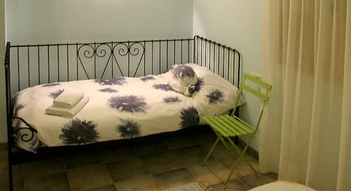 Habitació triple amb llit individual