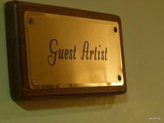 Guest Artist Room