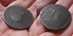 george half penny