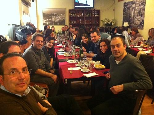 Sopar de periodistes del Maresme
