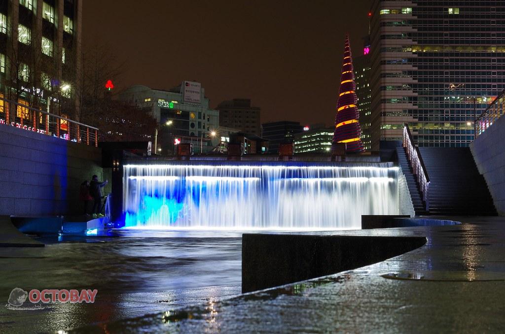 冬‧雨中首爾