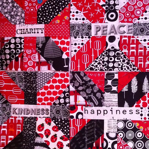 Four done by Scrappy quilts