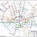 Circular Tube Map by Max Roberts by Annie Mole