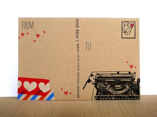 a Post Card