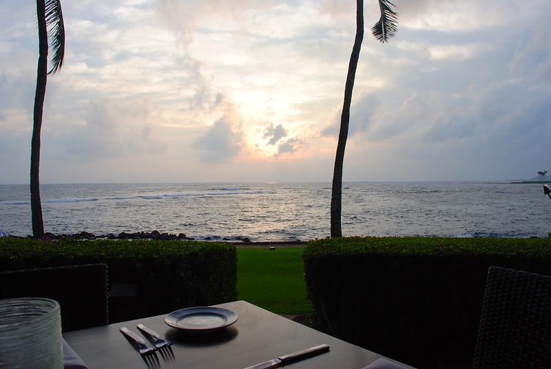 Dinner at The Beach House Restaurant - Poipu
