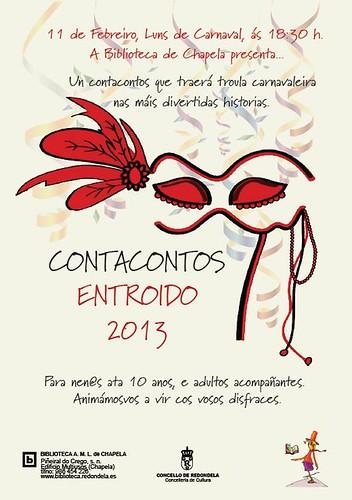 Contacontos Entroido by Bibliotecas Redondela