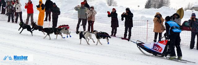 Eurohound au Mass Start de La Grande Odyssée