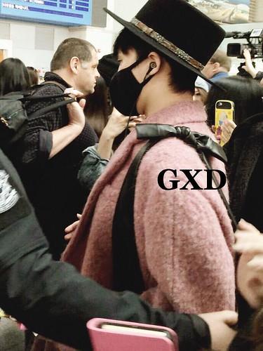 Big Bang - Incheon Airport - 21mar2015 - G-Dragon - __gxd - 01