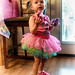 Izzy and her two  tutu.