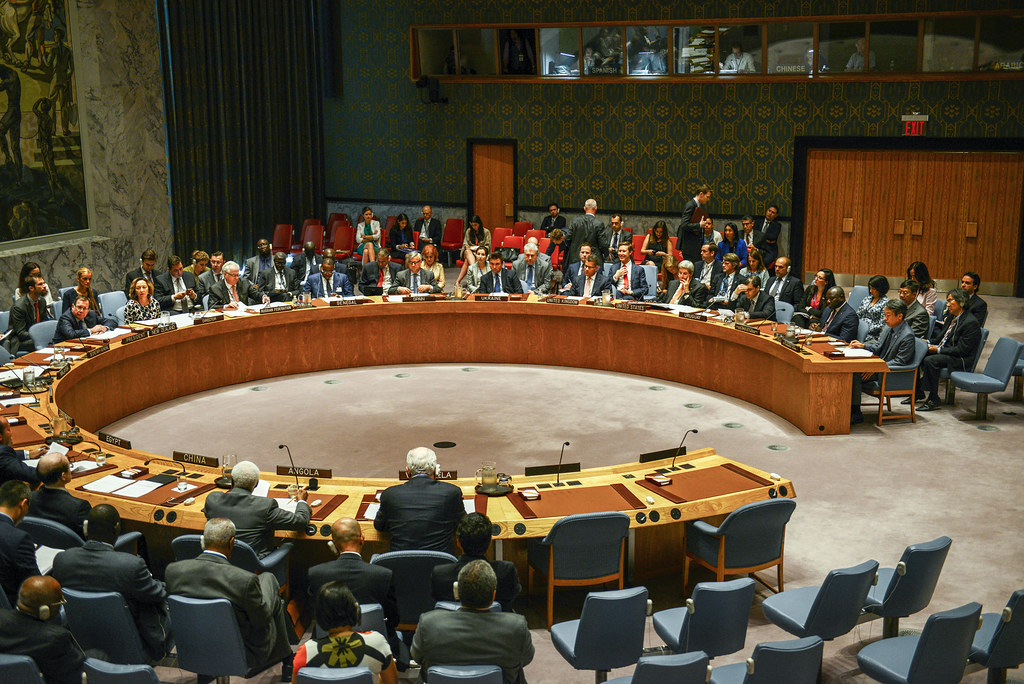 23 September 2016: Security Council Meeting at United Nations