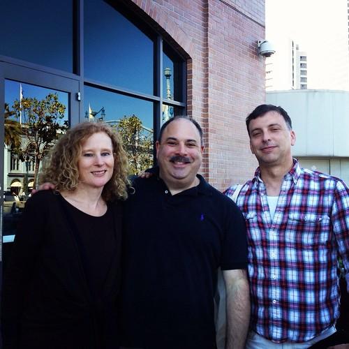 Lynda, Chef John, Michael