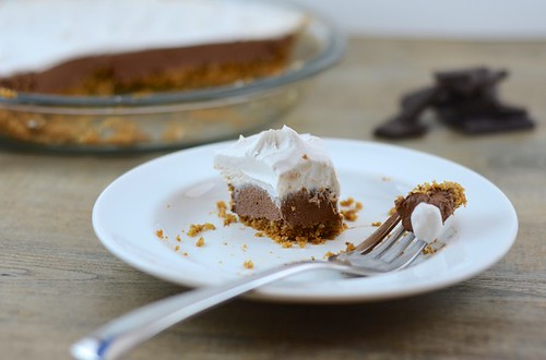 Chocolate Cream Pie – Gluten-free + Vegan