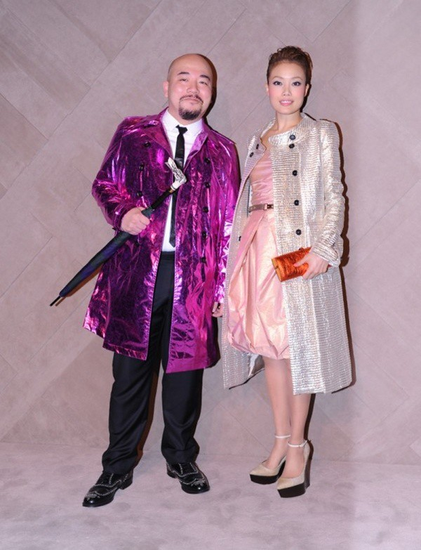 9b Wyman Wong and Joey Yung at the Burberry event in Pacific Place Hong Kong