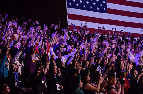 President Obama's Election Night Rally