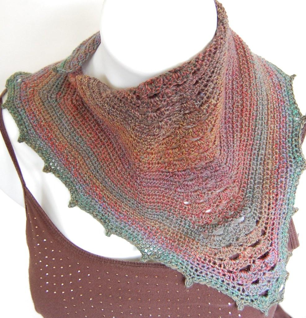 Manta Ray Scarflette Crochet Pattern by Knot By Gran'ma