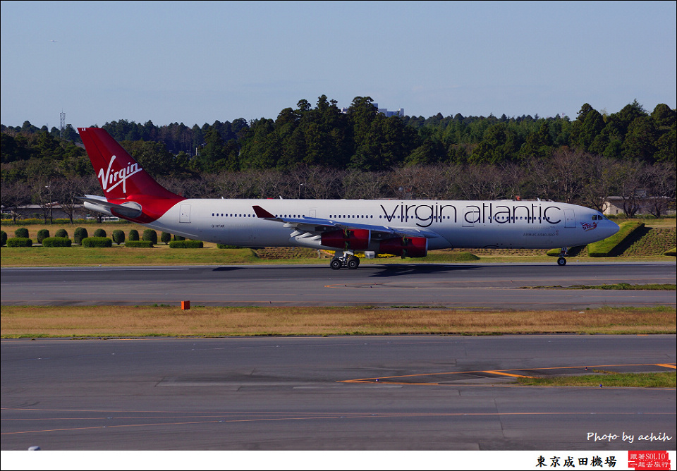 Virgin Atlantic Airways / G-VFAR / Tokyo - Narita International