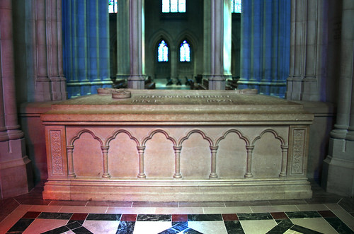 Tomb of Woodrow Wilson - Washington National Cathedral - Washington DC - 2012