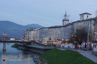 Salzburg Straßen und Gassen