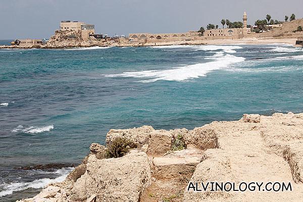 Scenic sea view