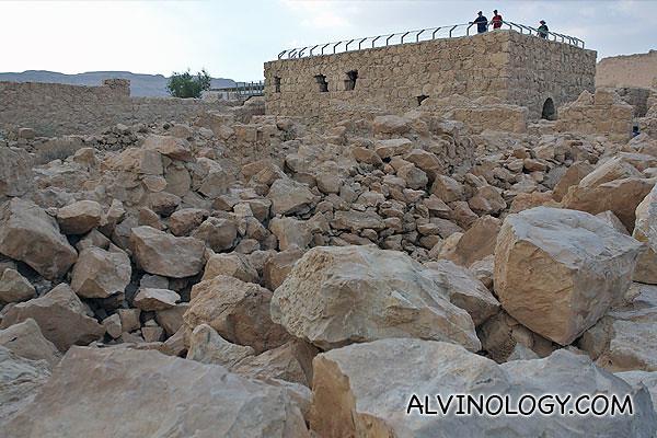 Lots of rocks