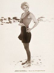 Joan Blondell, Warner Brothers Publicity Photo, 1932.