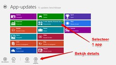 Windows 8 App updates