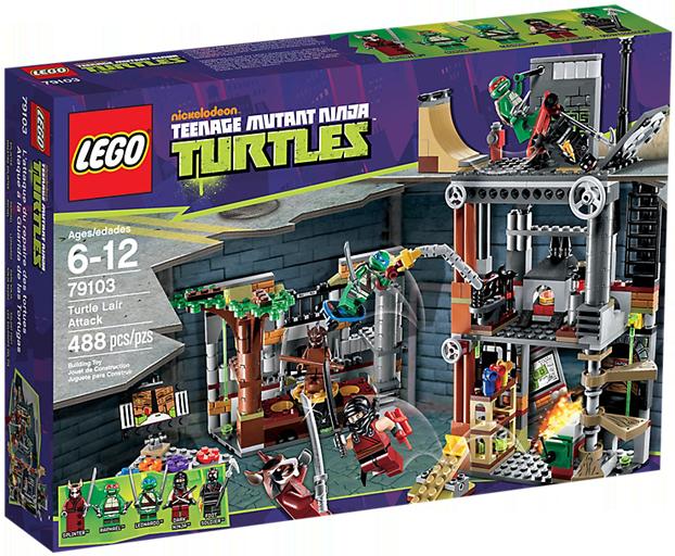 LEGO Teenage Mutant Ninja Turtles 79103 - Turtle Lair Attack