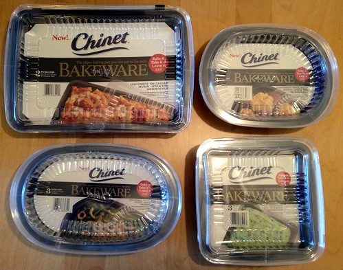 Chinet Bakeware Giveaway