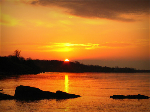 autumn sunset ohio orange fall lakeerie saybrook hurricanesandy