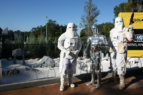 Legoland Florida Star Wars Miniland Grand Opening Ceremony