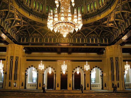 Maskat – mešita sultána Kábúse