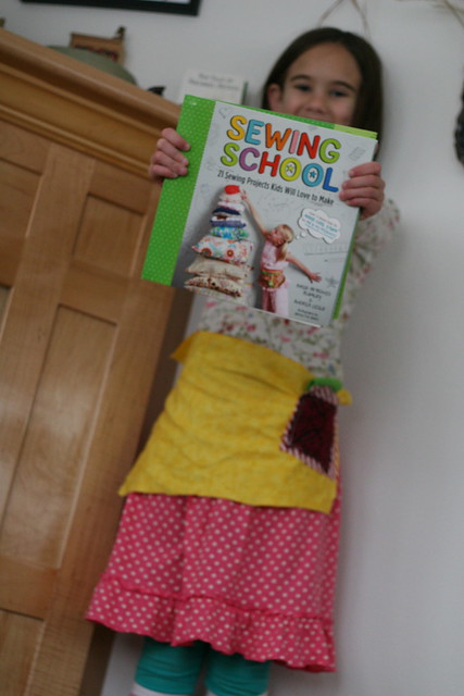 sewing school + apron