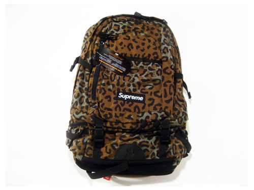 Tuukka13 - Non-Black Backpack Inspiration - Supreme Leopard Backpack,  S:S 2010