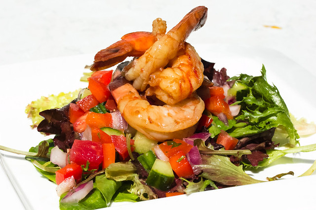 Grilled Shrimp Gazpacho Salad Bistro Choloe Elan August 29, 2012 3 ...